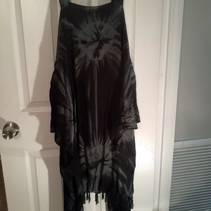 The dyed dress Beach Cover Up